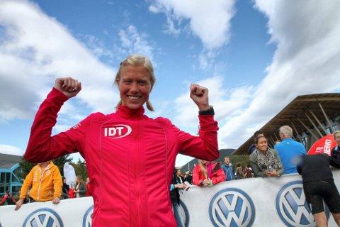 TRIPPELVINNER: For tredje året på rad vant Mathe Katrine Myhre trippelen i Birken.