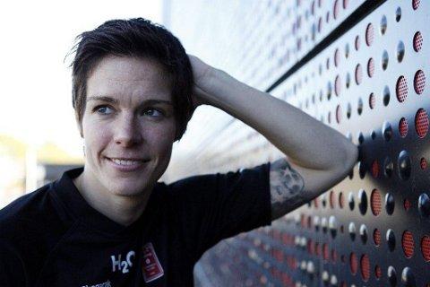 Anja Edin er klar for seriestart i LHK og en ny hverdag i Larvik.