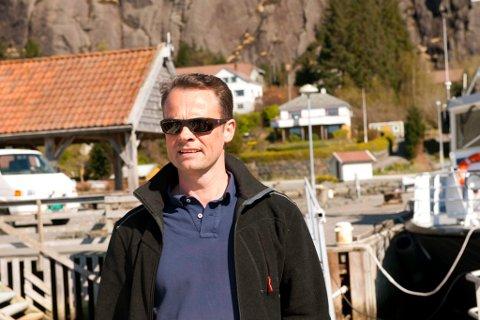 Tom Erling Bahus er tilsett som prosjektleiar for Nordhordland Næringshage sitt avdelingskontor på Hardbakke i Solund.