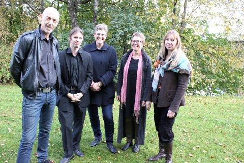 Børge Brekke, Morten Strømsodd, Marianne Broch, Nelly Aasberg og Agita Egelandsdal er årets lokale bidragsytere på Kunst Rett Vest.