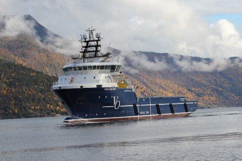 «Vestland Mira» drog rett frå sin eigen dåp i Balestrand til oppdrag i Nordsjøen.