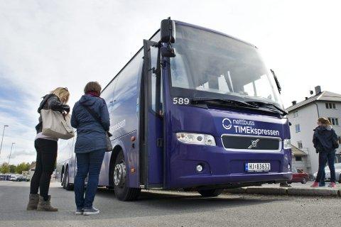 PARKERES: Fra og med 9. desember vil kun én av sju direkteavganger til Oslo bestå.