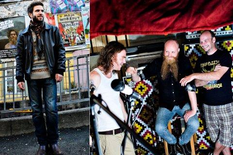 Eivind Vilnes (t.v.) og Drusar er to av finalistane i Bandwagon og er med i kampen om å ha Norges beste låt blant uetablerte band og artistar.