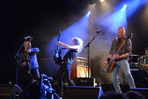 Bandet Drusar frå Jølster og Førde gav full gass under den nasjonale finalen i Bandwagon i 2012.