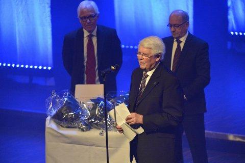 Bjørn Andersen takket varmt for utmerkelsen.