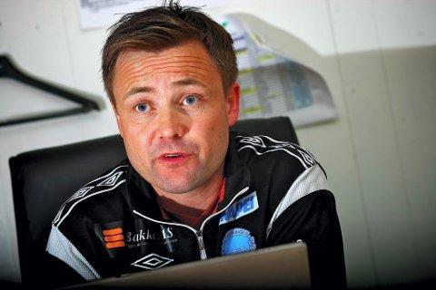 SKADER: Både Gøran Wigum og Magnus Solum er ute med skade under treningskampen mot Nybergsund søndag ettermiddag.