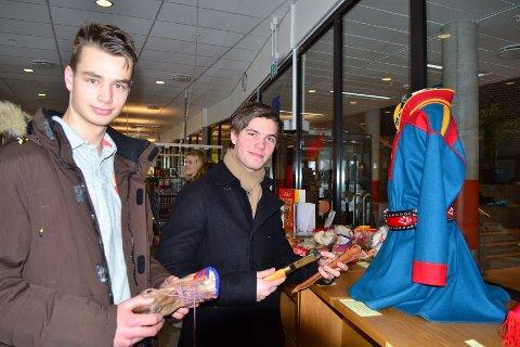 Adrian  Bergan og Martin Forsberg