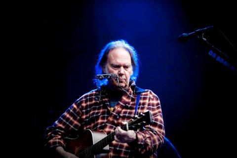 Neil Young kommer til Norge i f¿rste halvdel av august.