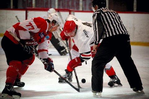 ISFLATE: Kommunestyret sier torsdag trolig ja til at den nye ishallen får NHL-mål for isflaten. Her fra den gamle Kongshallen.