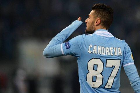 Lazios Antonio Candreva.
