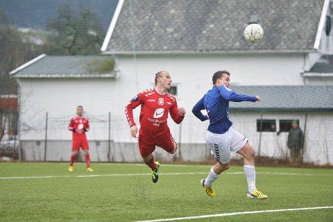 Målscoreren Martin Pusic våknet i cupkampen mot Øystese. Pusic gjorde hattrick.