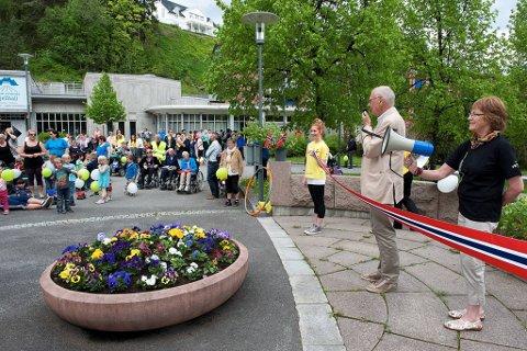 Rullatorbyen: Ordfører Bjørn Iddberg slo fast at Gjøvik trygt kan kalles «rullatorbyen» i sin åpningshilsen.