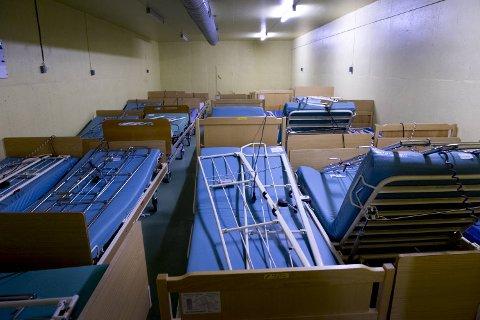 Stollene i Sydnestunnelen brukes i dag som nødlager for sykehussenger.