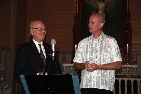 Læremesteren og eleven: Sigmund Groven og Tore Reppe trollbandt publikum
