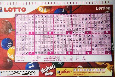 Dersom du velger en av disse ti Lotto-rekkene kan du ikke forvente å bli millionær. Dette er nemlig de ti mest brukte tallrekkene i Lotto-spillet.
