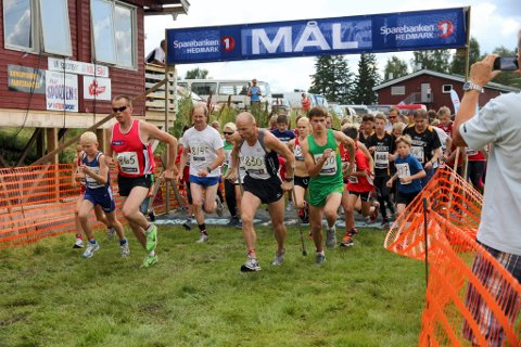 FLERE ENN I FJOR?: I fjor stilte 382 deltakere på startstreken under Kongsvinger Maraton. Arrangørene håper på flere i år.