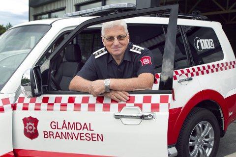 BRANNSJEF: Konstituert brannsjef Per Ivar Bekk har etter mange år i brannvesenet takket ja til brannsjefjobben.