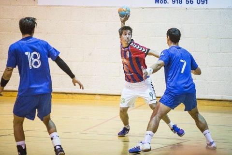 Tar ansvar: Thomas Eidsgaards håndballtalent har vi visst om lenge, men er det nå han skal slå igjennom for fullt ?