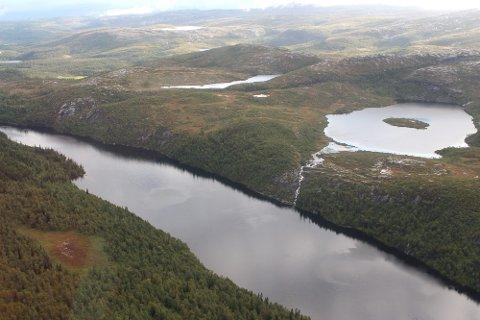 PARASITT: Tarmparasitten Giardia er påvist i drikkevannet i Vefsn, som kommer fra Langvatnet.