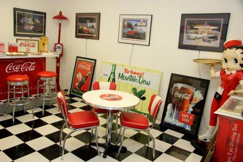Samleobjekt: Coca-Cola og Betty Boop er to av de største amerikanske samleobjektene.