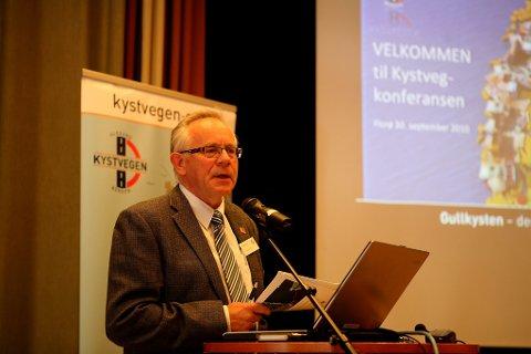 Eivind Hjellum- er tilbake i arbeidet med Kystveg-prosjektet. No som prosjektleiar.