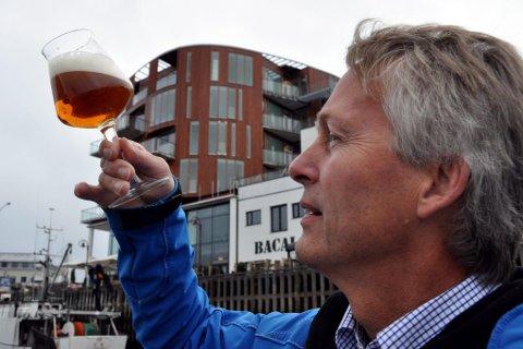 Thorvardur Gunnlaugsson har sendt vann til ølproduksjonen i Tyskland.