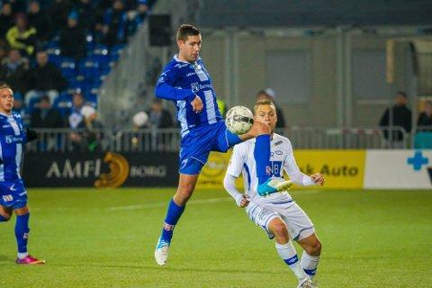 FORSTERKNING: Steffen Ernemann har vært en fin forsterkning for Sarpsborg 08. Midtbanespilleren har vært en leder både i garderoben og på banen. (Foto: Thomas Andersen)