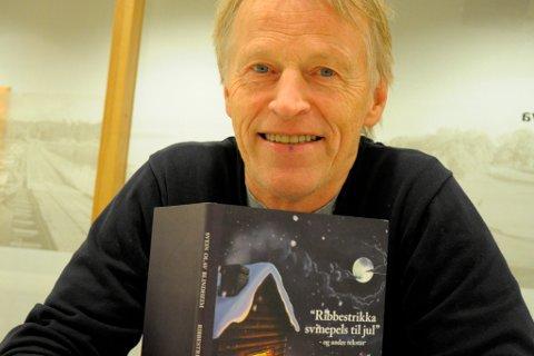 Svein Olav Blindheim serverer ribbestrikka svinepels til jul.