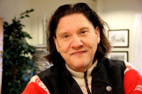 NY UTGIVELSE: Hilmar «Bussi» Karlsen Rosenborg har gitt ut ny CD. Foto: Siv Ellefsrud