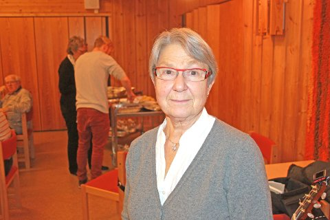 Torun Lundby fikk hjerteinfarkt i 2001. Nå trener hun med hjertegruppa til Frisklivssentralen.