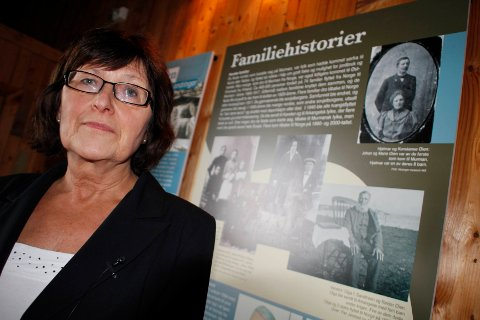 LEI AV Å VENTE: Politikerne har ønsket nytt museumsbygg siden 1971, men ikke kommet fram til noe kommunen har råd til. Museumsdirektør Sigrid Skarstein  mener politikerne burde blitt enige om en løsning, i stedet for å stadig endre og utsette.