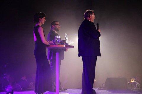 Avtroppende SI-direktør Per Waage ble i går kveld utnevnt til Årets Rana-ambassadør. Foto: Jens Overvik