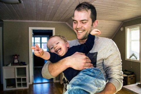 Populær blogger: Peter Kihlman skriver bloggen «Pappahjerte», som er en av Norges mest leste blogger.Arkivfoto: Inger Lene O. Steen