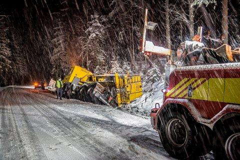 Sarpsborg arbeiderblad br ytebil havnet i gr fta for Av diagonal 434