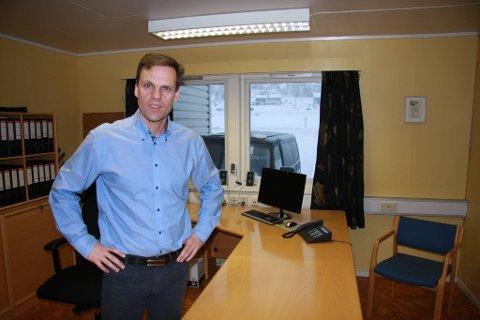 SISTE DAG: Tomas Skaugrud har ryddet skrivepulten sin og hadde sin siste arbeidsdag som daglig leder ved Berthas Bakerier fredag. ? Det er vemodig, sier han.
