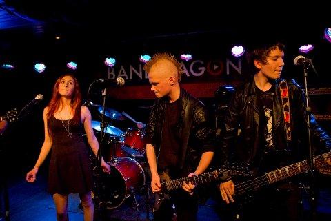 VADSØ-PØNKERE: Bandet Dysskleksii fra Vadsø er et av de som skal opptre under Rømkollerocken-Fiilirock. Her fra Bandwagon i fjor.