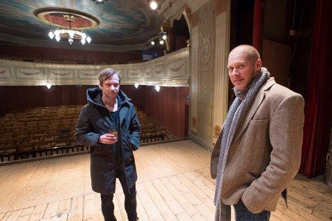 Tore Lie og Ketil Thomsen setter opp «Woman In Black» to helger i mars. En skikkelig spøkelseshistorie i to akter, med servering i pausen.
