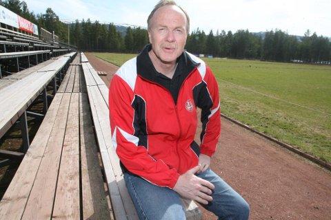 Leder i TIF, Eystein Lunåshaug, forteller at man nærmer seg realisering av en fotballhall på Nytrømoen