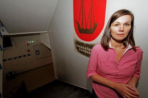 FORTVILER: Rektor på Borgtun skole, Pia Elverøy, sier situasjonen på Borgtun er prekær.