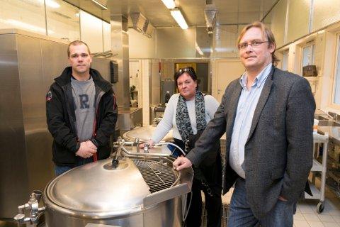 Ole R. Mælingen, Espen Krogstad og Tove Brorson.