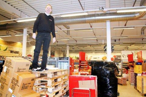 Bjørn Bendiktsen tar Eurospar Tomasjord til nye høyder.
