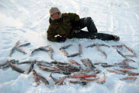 STEIKFISK: Jens Nilsen kjenner de fleste kriker og kroker på fjellet, og da får man også gode fiskehistorier.