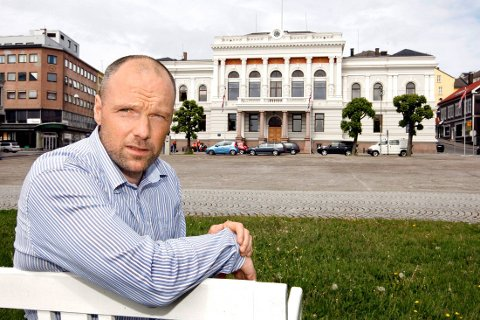 LIBERAL: - Noe av kostnadsnivået vi har i dag må vi tilbakeføre til en åpen og liberal bosettingspolitikk de siste ti årene, sa rådmann Jan Petter Johansen. FOTO: ARILD HANSEN