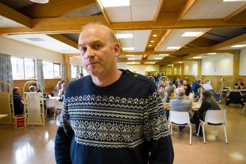 FORHANDLINGER: Hovedtillitsvalgt Kjetil Nordby skal forhandle om betingelser for det siste halve året ved NorDan på Kvisler.