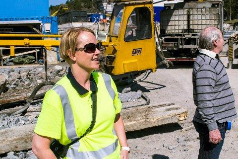 Fornøyd: Kommunikasjonsleder Trine Evensen var fornøyd med at så mange tok turen for å se på prosjektet.