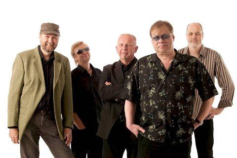 Den siste utgaven av Bergen Blues Band; (f.v.) Ole Thomsen, Atle Johannesen, Willy Korneliussen, John Magnar «Hungry John» Bernes og Aksel Fjæra.