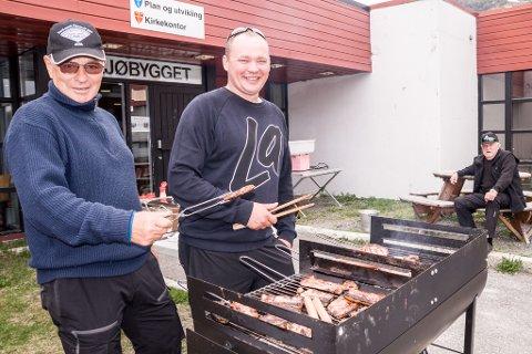 Grillmat sørger blant annet Åke Murberg og Øystein Thomassen for.