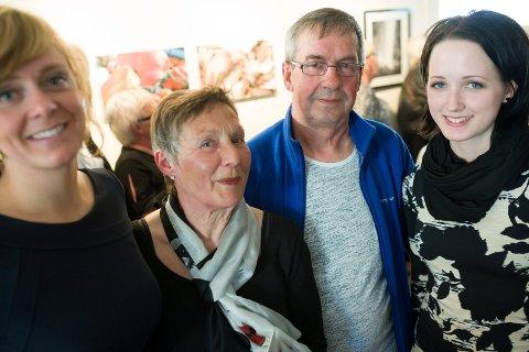 BIDRAG: Marjolein Ten Hoopen, Mary Vik, Steinar Hansen og Linda Rønning takkes særlig for å ha bidratt med innsamling og for å ha leget kunst.