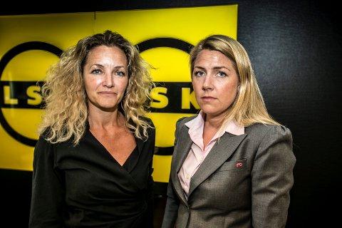 ALVORLIG: LSK-leder Heidi Scheie (til venstre) og daglig leder Anita Westby styrer LSK gjennom en tøff tid. Nå ber de om hjelp for å komme seg gjennom sommeren.