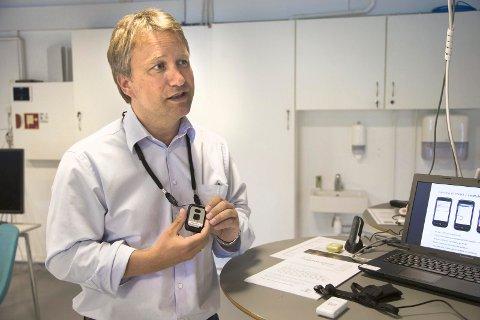 Ole Jan Rimstad forteller at det går an å få GPS med mulighet for toveiskommunikasjon.